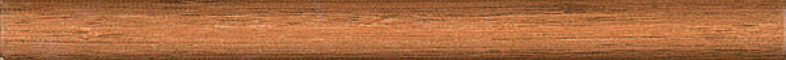 Бордюр 119 Карандаш Дерево коричневый матовый 25х2 Kerama Marazzi