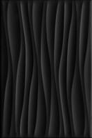 Плитка настенная 8276 Карнавал в Венеции чёрный волна 20х30 Kerama Marazzi