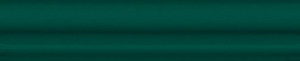 Бордюр Клемансо BLD035 Багет зеленый 15x3 Kerama Marazzi