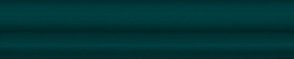 Бордюр Клемансо BLD037 Багет зеленый темный 15x3 Kerama Marazzi