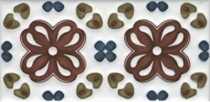 Декор Клемансо STG/B616/16000 орнамент 7.4x15 Kerama Marazzi