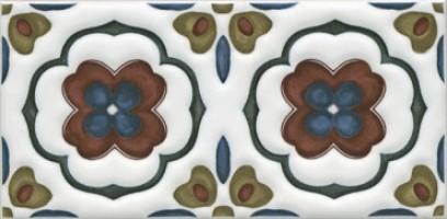 Декор Клемансо STG/B617/16000 орнамент 7.4x15 Kerama Marazzi