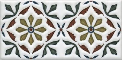 Декор Клемансо STG/B618/16000 орнамент 7.4x15 Kerama Marazzi