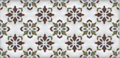 Декор Клемансо STG/B619/16000 орнамент 7.4x15 Kerama Marazzi