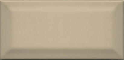 Настенная плитка Клемансо 16052 беж тёмный грань 7.4x15 Kerama Marazzi
