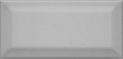Настенная плитка Клемансо 16054 серый тёмный грань 7.4x15 Kerama Marazzi