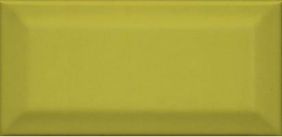 Настенная плитка Клемансо 16055 оливковый грань 7.4x15 Kerama Marazzi