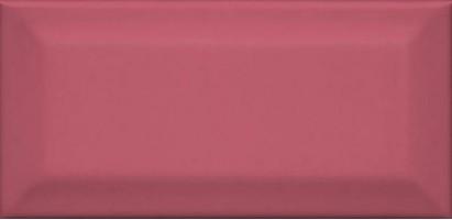 Настенная плитка Клемансо 16056 розовый грань 7.4x15 Kerama Marazzi
