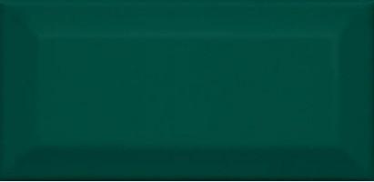 Настенная плитка Клемансо 16058 зелёный грань 7.4x15 Kerama Marazzi