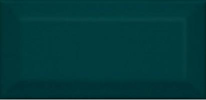 Настенная плитка Клемансо 16059 зелёный тёмный грань 7.4x15 Kerama Marazzi