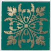 Вставка Клемансо HGD/E252/5246 зелёный 4.9x4.9 Kerama Marazzi