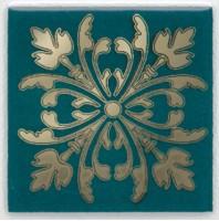 Вставка Клемансо HGD/F252/5246 зелёный темный 4.9x4.9 Kerama Marazzi