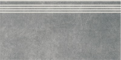 Фронтальная ступень Королевская дорога SG614600R\GR серый темный обрезной 30х60 Kerama Marazzi