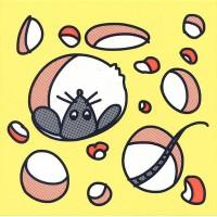 Декор NT/A137/5109 Кошки-Мышки. Сыр и Мышка 20x20 Kerama Marazzi