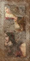 Керамогранит Ковер SG590400R Венеция декорированный обрезной 119.5x238 от Kerama Marazzi
