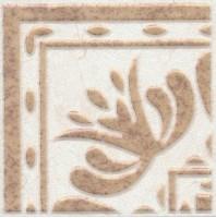 Настенная вставка AD/A255/6276 Лаурито орнамент 7.7x7.7 Kerama Marazzi