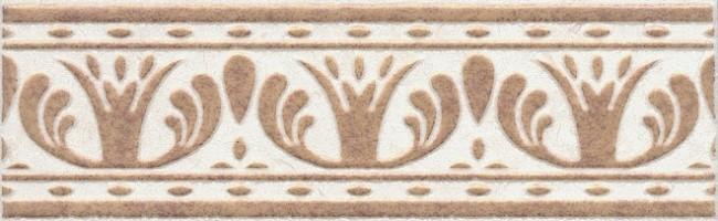 Настенный бордюр AD/A211/6276 Лаурито орнамент 25x7.7 Kerama Marazzi