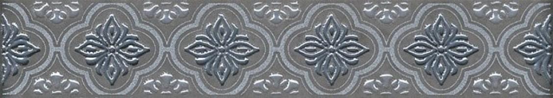 Бордюр AD/A293/5263 Марчиана серебро 20x3.6 Kerama Marazzi