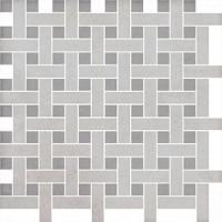 Декор Kerama Marazzi Марчиана серый мозаичный 42.7x42.7 SG183\004