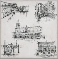 Декор STG/A594/5261 Марчиана Venezia 20x20 Kerama Marazzi