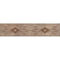Бордюр настенный MLD/B05/6240 Мармион коричневый 5.4x25 Kerama Marazzi
