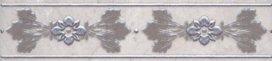 Бордюр настенный MLD/C05/6243 Мармион светло-серый 5.4x25 Kerama Marazzi