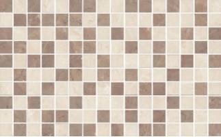 Декор мозаичный MM6267B Мармион бежевый 8мм 25x40 Kerama Marazzi