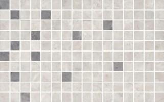 Декор мозаичный MM6268A Мармион серый 8мм 25x40 Kerama Marazzi