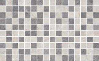 Декор мозаичный MM6268B Мармион серый 8мм 25x40 Kerama Marazzi