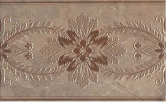 Декор настенный MLD/B04/6240 Мармион коричневый 8мм 25x40 Kerama Marazzi