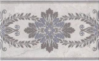Декор настенный MLD/C04/6243 Мармион светло-серый 8мм 25x40 Kerama Marazzi
