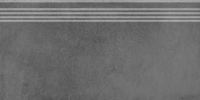 Фронтальная ступень Мирабо SG227500R/GR серый обрезной 30x60 Kerama Marazzi