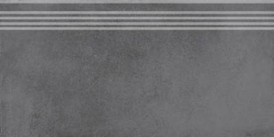 Фронтальная ступень Мирабо SG227600R/GR серый темный обрезной 30x60 Kerama Marazzi