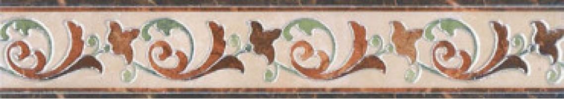 Бордюр Мраморный дворец лапп. HGD/A202/SG1550L 7.2x40.2 Kerama Marazzi