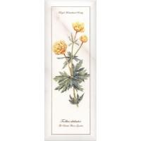 Декор NT/A86/15005 Ноттингем цветы грань 15x40 Kerama Marazzi