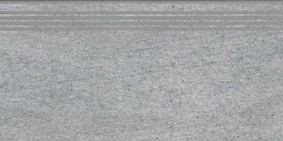 Ступень SG212400R/GR Ньюкасл серый обрезной 9мм 30x60 Kerama Marazzi