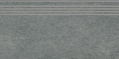 Ступень SG212500R/GR Ньюкасл серый темный обрезной 9мм 30x60 Kerama Marazzi