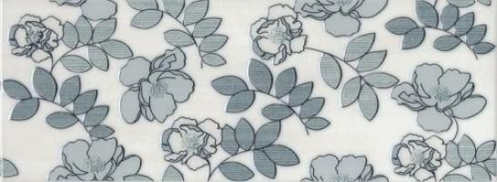 Декор STG/B182/15016 Ньюпорт цветы зеленый 8мм 15x40 Kerama Marazzi