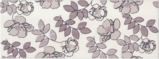 Декор STG/C182/15010 Ньюпорт цветы фиолетовый 8мм 15x40 Kerama Marazzi