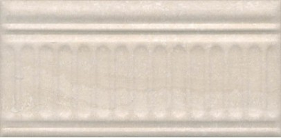 Бордюр Олимпия 19047/3F беж 20x9.9 Kerama Marazzi