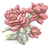 Декор TFA012 Оранжерея Розы 9.9x9.9 Kerama Marazzi