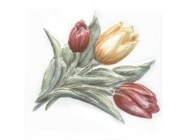Декор TFA013 Оранжерея Тюльпаны 9.9x9.9 Kerama Marazzi