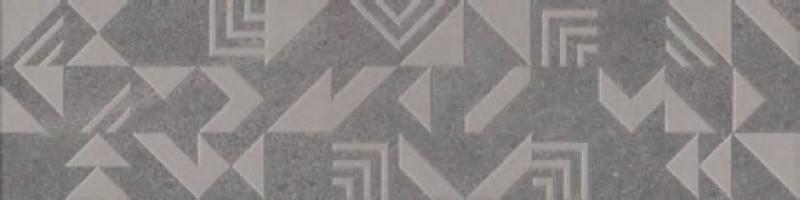Декор Kerama Marazzi Про Матрикс серый темный геометрия 15x60 SBD012\DD3183