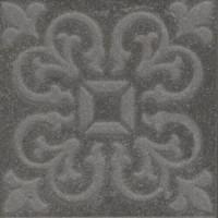 Вставка Kerama Marazzi Про Матрикс антрацит 9.5x9.5 SBD023\DD2021