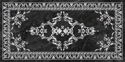 Керамогранит Kerama Marazzi Риальто серый тёмный декорированный 238.5x119.5 SG592702R