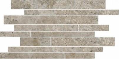 Бордюр SG188/003 Ровиго тёмно-серый мозаичный 50.2x14.5x9.5 Kerama Marazzi