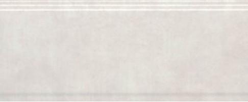 Бордюр Сад Моне BDA004R белый обрезной 30x12 Kerama Marazzi