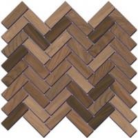 Декор Селект Вуд SG194/002 беж темный мозаичный 33x33 Kerama Marazzi