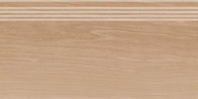 Фронтальная ступень Слим Вуд SG226200R/GR беж темный обрезной 30x60 Kerama Marazzi