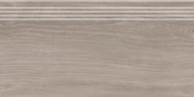 Фронтальная ступень Слим Вуд SG226300R/GR коричневы обрезной 30x60 Kerama Marazzi